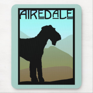 Craftsman Airedale Terrier Mouse Mat