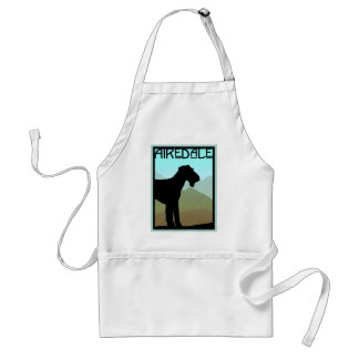 Craftsman Airedale Terrier Standard Apron