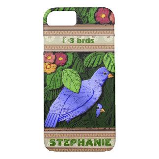 Craftsman Birds - Personalized iPhone 7 Case