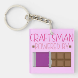 Craftsman Chocolate Gift for Her Acrylic Keychains