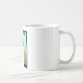 Craftsman Style Bloodhound Dog Coffee Mug