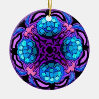 Craftsman Winter Garden (Ceramic Fan Pull / Orname Christmas Ornament