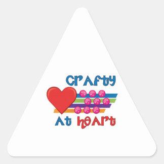 Crafty At Heart Sticker