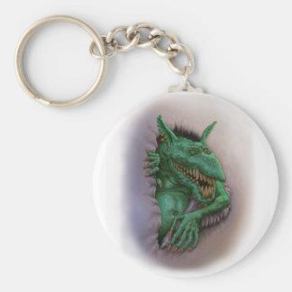 Crafty Goblin Basic Round Button Key Ring