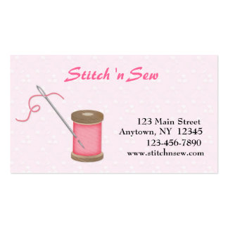 Crafty Sewing Business Card Template