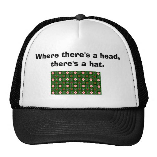 Crafty Textile Pattern Hat