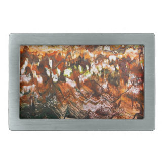 Craggy Landscape Rectangular Belt Buckles