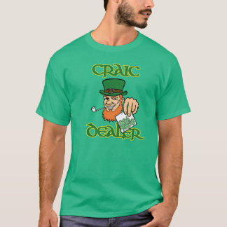 Craic Dealer Green T-Shirt