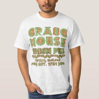 CRAIC HOUSE IRISH PUB Dublin Est 1701 T-Shirt