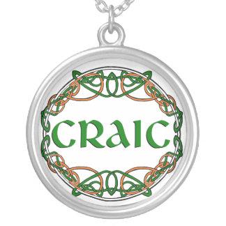 CRAIC Irish Fun Enjoyment Necklace