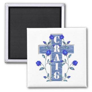 Craig Blue Cross Magnet