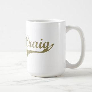 Craig Colorado Classic Design Basic White Mug