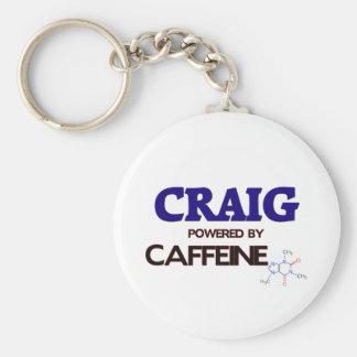 Craig powered by caffeine key ring