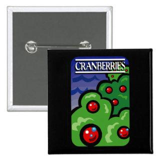 Cranberries 15 Cm Square Badge