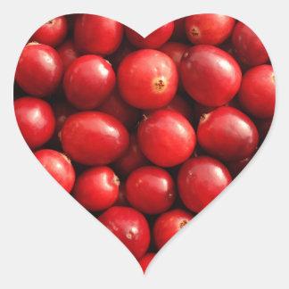 Cranberries Heart Sticker