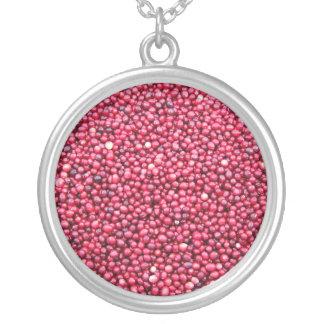 Cranberries Round Pendant Necklace