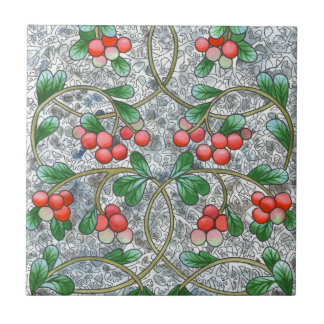 Cranberries Small Square Tile