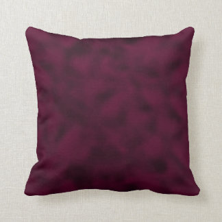 Cranberry and Black Mottled Cushion