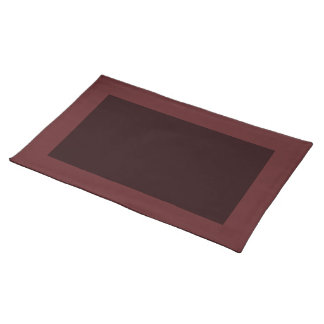 Cranberry and Dark Wine Placemat