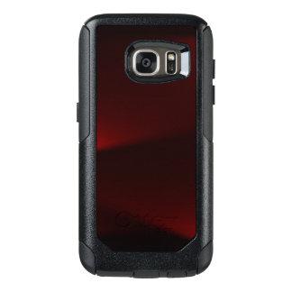 Cranberry & Black Lights OtterBox Samsung Galaxy S7 Case