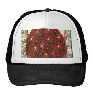 Cranberry Christmas Tree Ornament Cap