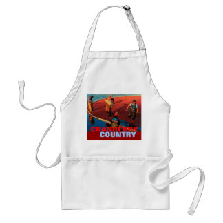 Cranberry Country Apron