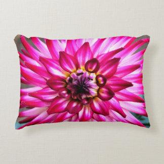 Cranberry Dahlia Pillow
