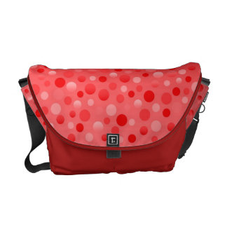 Cranberry Fizz messenger bag