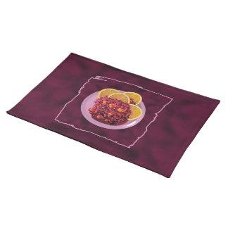 Cranberry Orange Relish Place Mat
