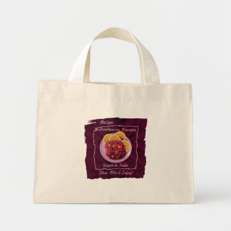 Cranberry Orange Relish Recipe Tote Bag