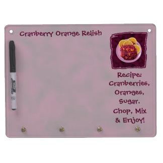 Cranberry Orange Relish Recipe Dry-Erase Whiteboard