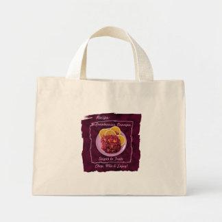 Cranberry Orange Relish: Recipe Mini Tote Bag