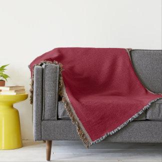 Cranberry Throw Blanket