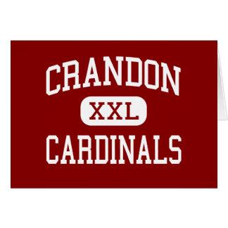 Crandon - Cardinals - Middle - Crandon Wisconsin Cards