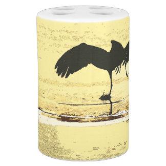 Crane Birds Bath Set