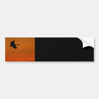 crane bumper sticker