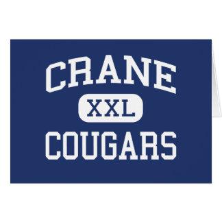 Crane Cougars Junior Yuma Arizona Card