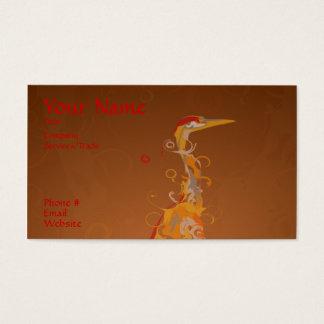 Crane design Business card