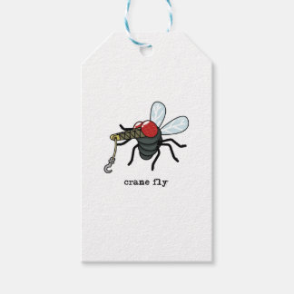 Crane Fly Gift Tags