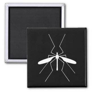 Crane Fly Square Magnet