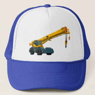 Crane Images for trucker hat