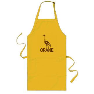 Crane Long Apron