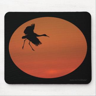 crane mouse pad