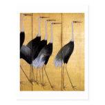 Crane, Ogata Kōrin Fine Art Postcard