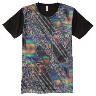 CRANE OPERATOR BOOM TIP ART NORTHWEST CRAWLER All-Over PRINT T-Shirt