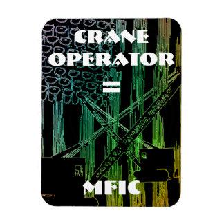 CRANE OPERATOR EQUALS MFIC MAGNET CRAWLER CRANE