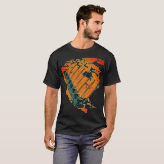 CRANE OPERATOR NORTH AMERICA MAP HEAVY EQUIPMENT T-Shirt