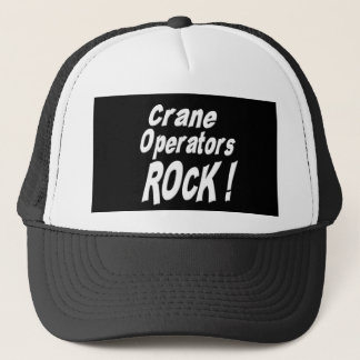 Crane Operators Rock! Hat