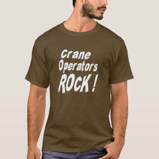 Crane Operators Rock! T-shirt