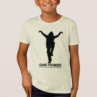 Crane Technique - If done right, no can defend T-Shirt